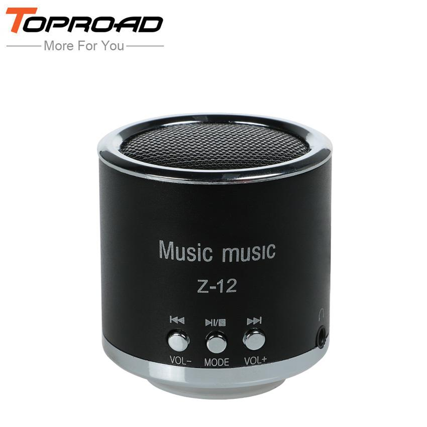 Mini Cylinder Column Portable Speaker Amplifier Sound Music HIFI Speakers Support FM Radio TF Card AUX MP3 Player