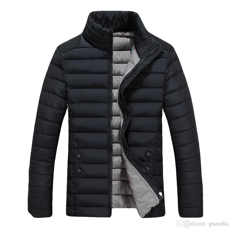 ecccf3a7488 2019 Wholesale Parka Coat Men Winter Jacket Man Warm Mens Winter Jackets  And Coats 2016 Casual Slim Fit Veste Doudoune Homme Hiver Marque From  Guandia