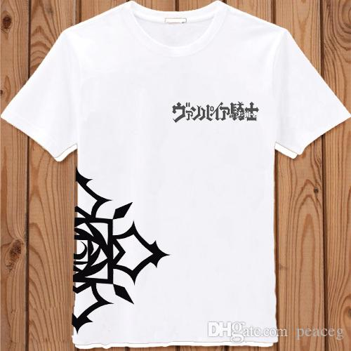Vampire Knight T Shirt Kuran Yuki Cartoon Short Sleeve Anime Tees ...