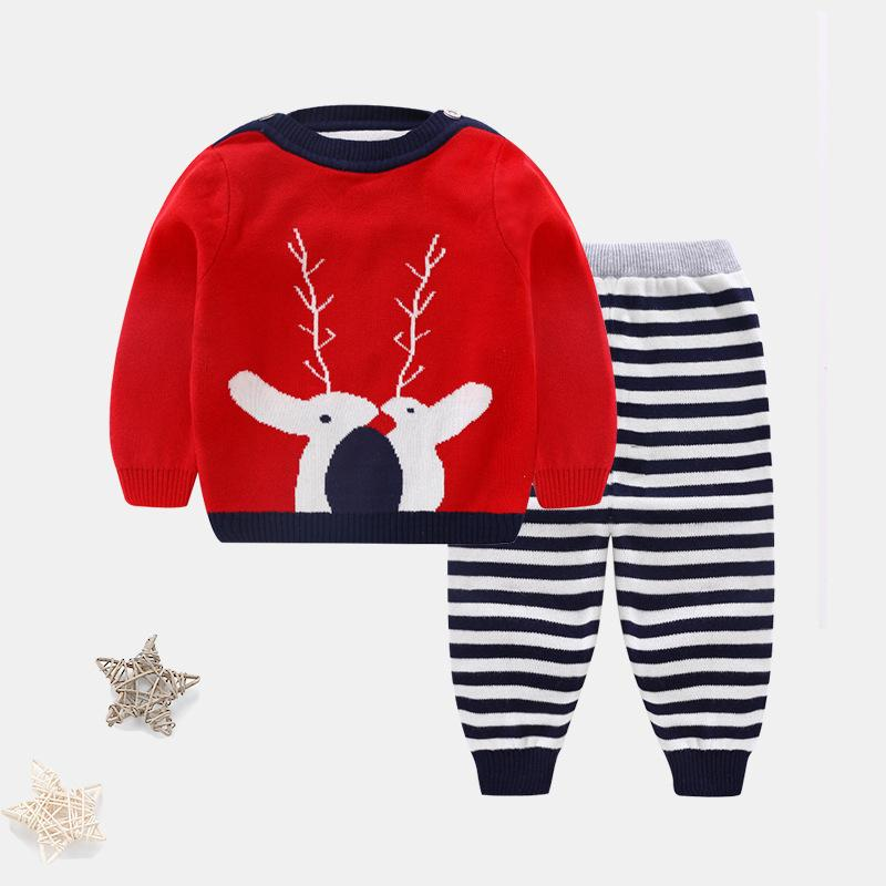 2018 z057 baby clothing newborn baby christmas clothes set boy outfit girl new year clothing christmas sweater sweater set from beasy 2875 dhgatecom
