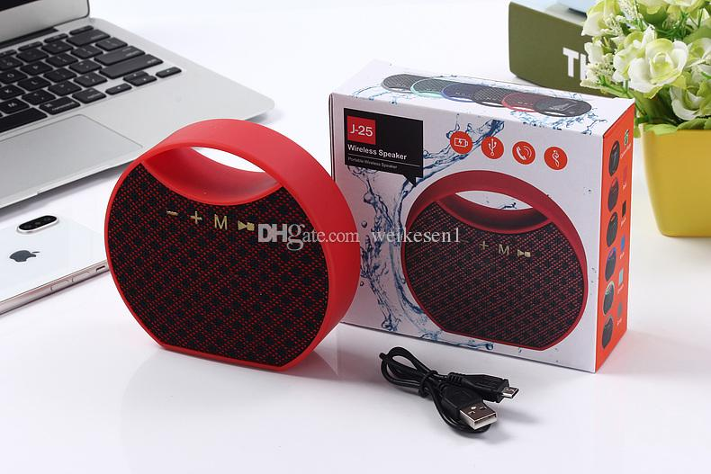 Promotion Mini Portable speaker Handle Wireless Speaker With Bluetooth Hands Free Calling And FM Radio as Gift speaker