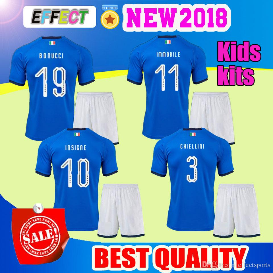 422dbd82ae9 68cd7 a4a29  inexpensive aaa 2018 world cup kids kits italy home blue  soccer jerseys italian national team verratti