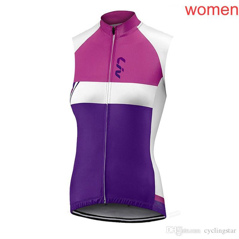 Acquista New Liv Cycling Jersey 2018 Donne Ropa Ciclismo Mujer Estate Senza  Maniche VEST Mtb Bici Abbigliamento Abbigliamento Ciclismo Cina Bicicletta  ... 96b87bc3f