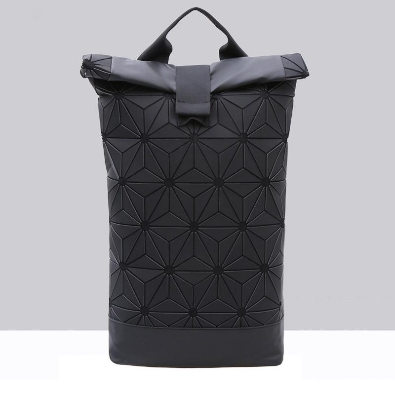 ed376dbd6ed5 Women Bao Bao Backpack For Girls Geometric Shoulder Bag Men School Bag  Rucksack Hologram Luminous Laptop Backpack Baobao Bagpack Backpacks For  Teens Cheap ...