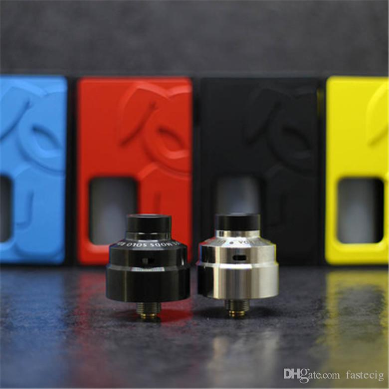 BF Squonker kit Mechanical BF Box Mod Bottom Feeder Mech Mod Plus SOLO RDA with 8ML silicone squonk bottle DHL free