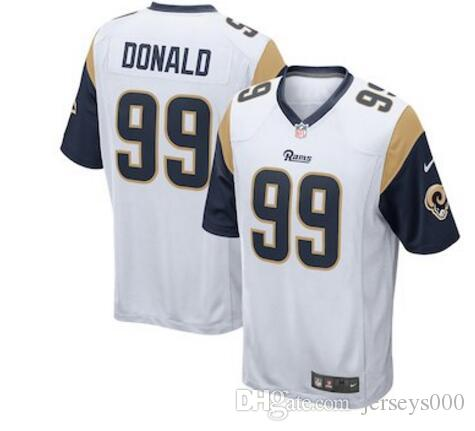 2018 30 Todd Gurley II Jersey Jared Goff Aaron Donald Los Angeles Rams  American Football Jerseys New Arricals Fashion Flash Deals Shopping Free  From ... fbb1b0e5f
