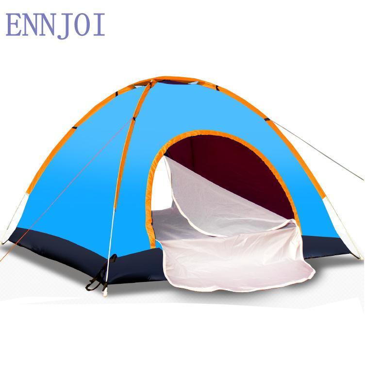 f89fea10f Compre 200   150 CM 2 Pessoa One Bedroom Camping Barraca Única Camada 190D  Oxford Pano Caminhadas Ao Ar Livre Mochila Camping Tenda De Enjoyweekend