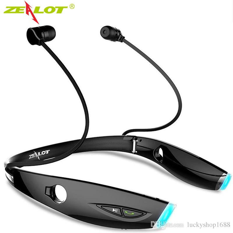 ZEALOT Bluetooth Earphone Sport Portable Wireless Stereo in ear Headphone with Microphone Headset for Smartphone Free Shipping