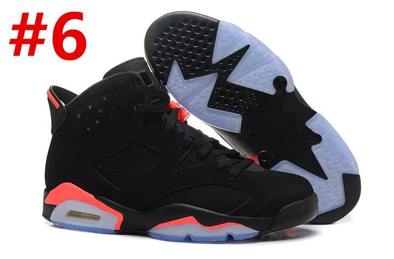 6 carmine basketball shoes kids 6s UNC black blue white infrared boys girls oreo black cat Athletic Shoes Big kids size5.5-13