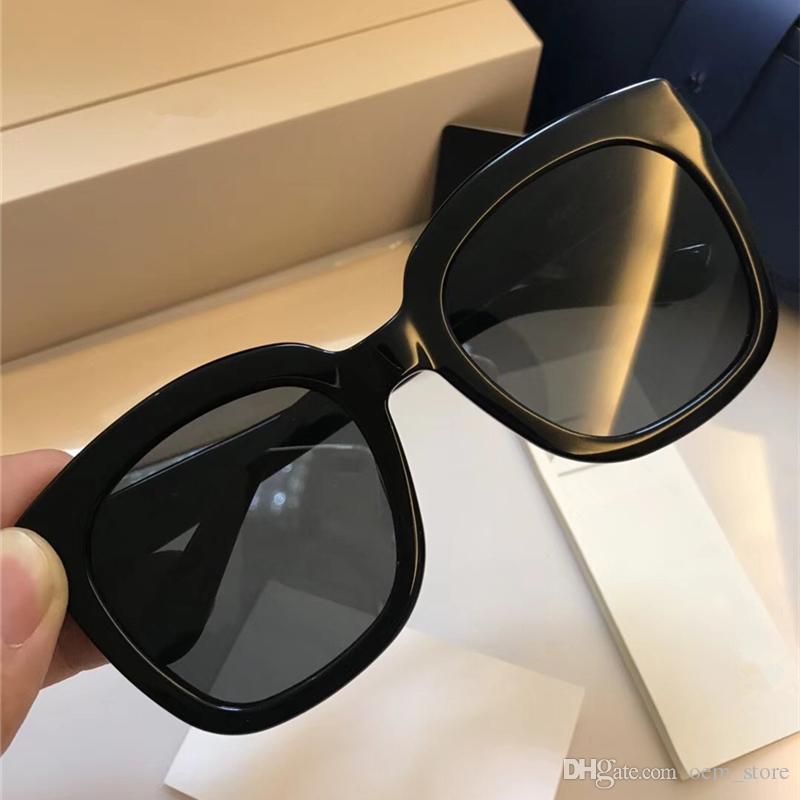 f115cf7dc ... De Sol Quadrados Do Vintage Grande Quadro Óculos Polarizados Óculos De  Sol Da Moda Senhora Estilo Adumbral Óculos De Design Da Marca Vogue Uv400  Óculos ...