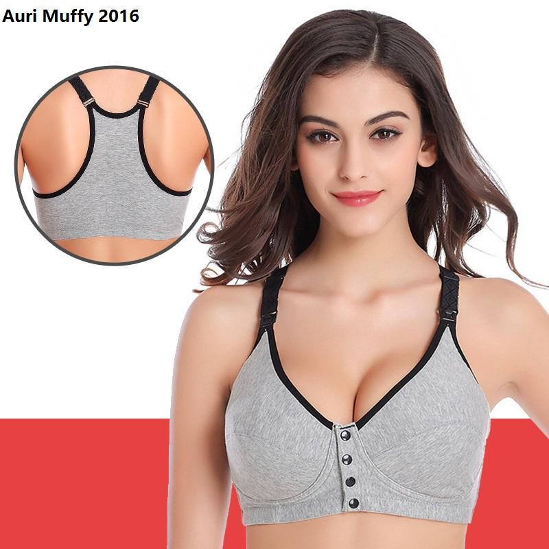 53d84d814f Auri Muffy 2016 Maternity Underwear Front Open Nursing Bra Breast ...