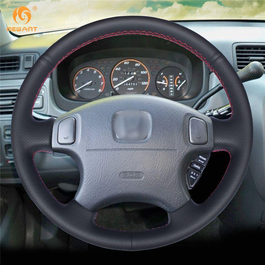 Acheter Couvre Volant MEWANT En Cuir Noir Pour Honda CRV CR V Prélude 1997  2001 Accord 6 1998 2002 Odyssey 1998 2001 Civic 1996 2000 De  17.59 Du ... 823810d5f6cb