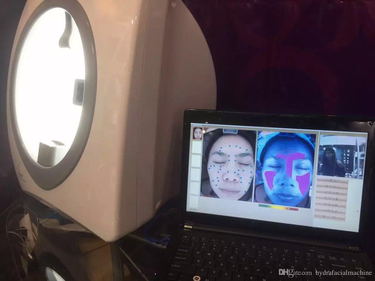 Qualidade superior Espelho Mágico Analisador de Pele Rosto Máquina de Análise Da Pele Equipamento de Beleza Facial Equipment Skin Scanner Analyzer