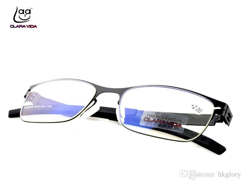 801e5a9f429 Cheap Titanium Rimless Reading Glasses Best Half Glass Reading Glasses