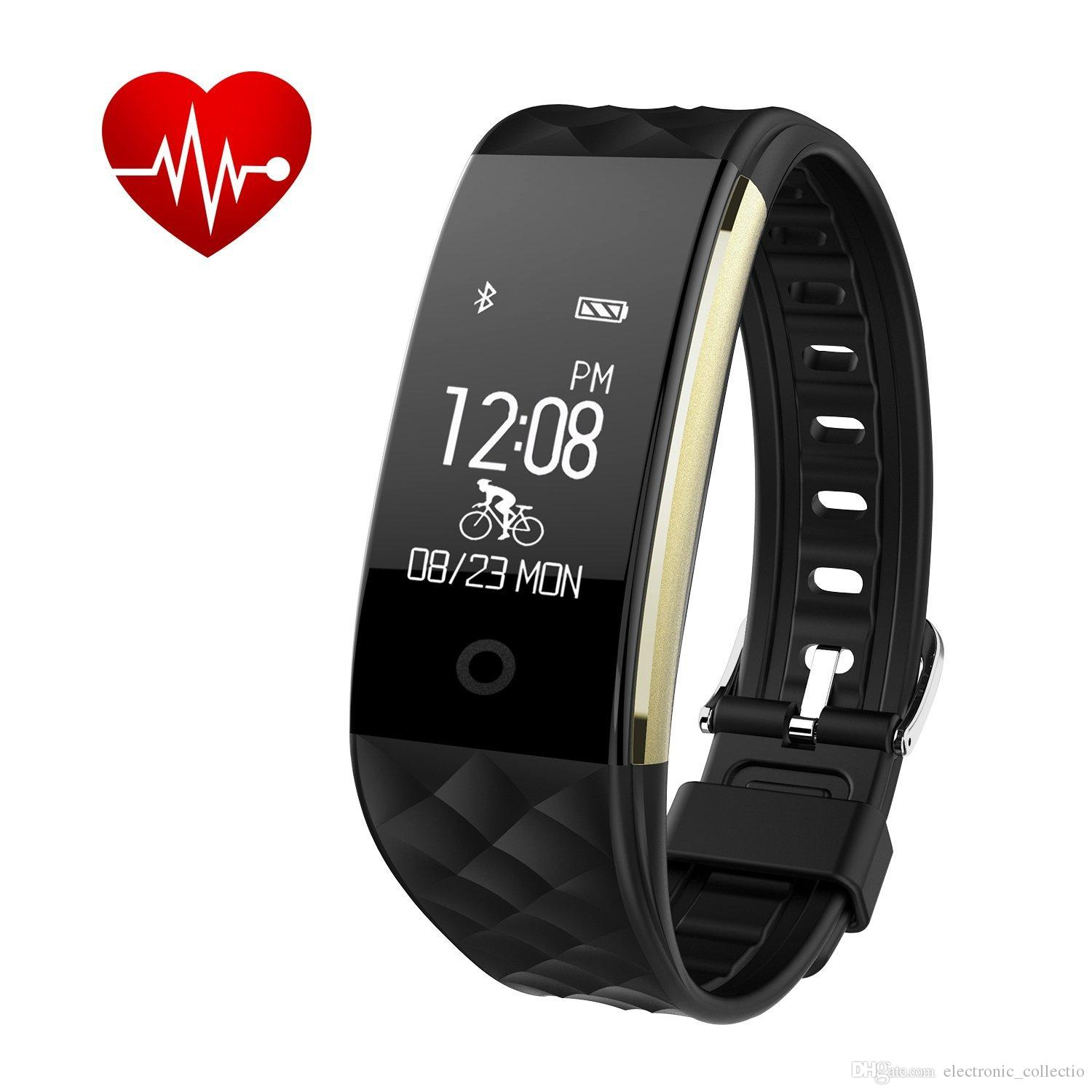 Heart Rate Sleep Monitor Pedometer Sport Watch Fitbit Reloj Inteligente Xiaomi line with $20 62 Piece on Electronic collectio s Store