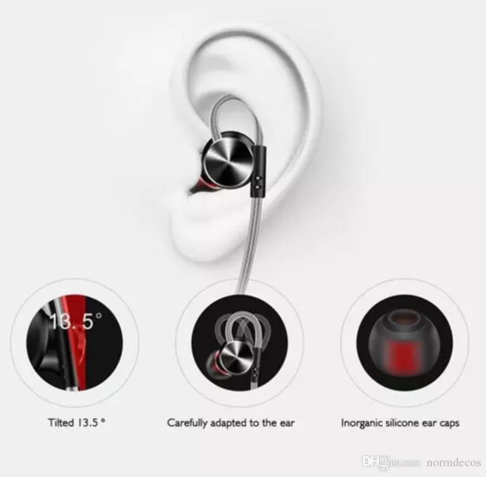 W3 Original Metall Magnetische Kopfhörer Super Bass Stereo HiFi Headset Sport Lauf Ohrbügel Ohrhörer Kopfhörer mit Mikrofon