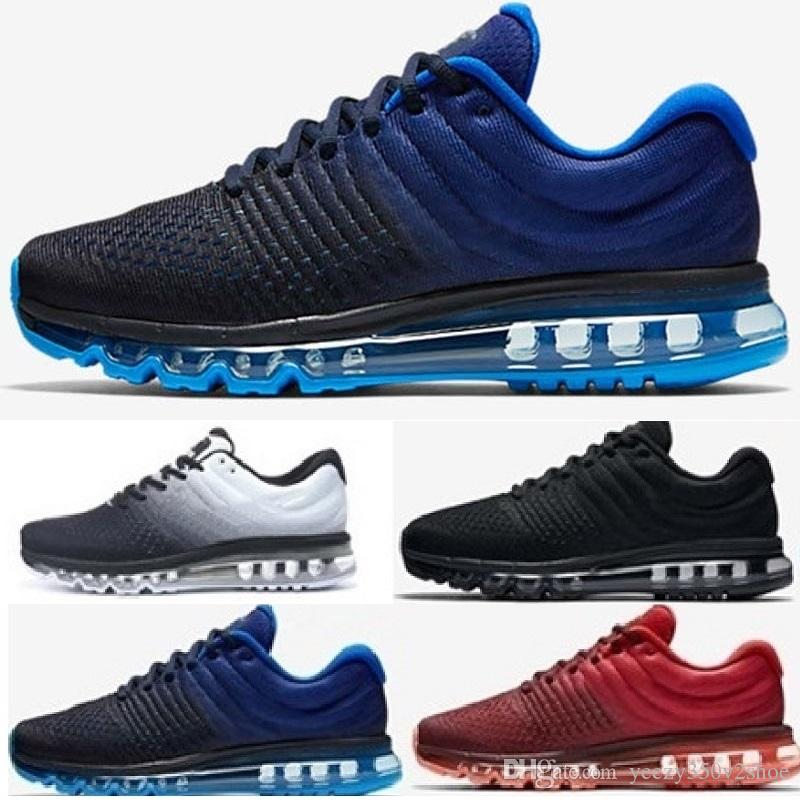 the latest 0c0be 4cf59 Wholesale 2017 Black White Grey Red Blue Zero QS Running Shoes Men Women  White Fashion Trainers Maxes 2016 Sports Sneakers Size 36 46 Shoe Sale  Running ...