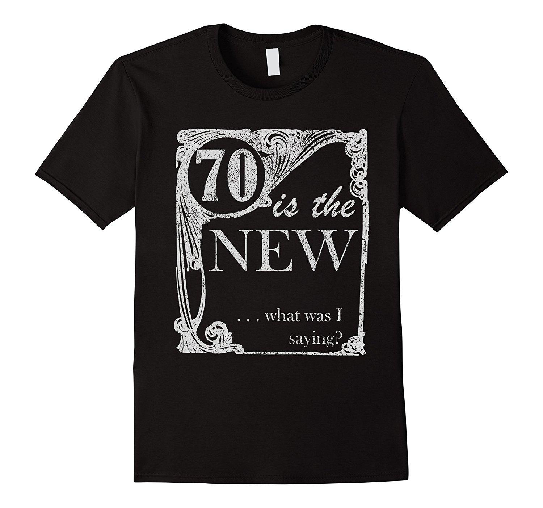 bd2c69a0d10 Compre Camiseta De Cumpleaños Número 70 Camiseta De Broma Y Mordaza De  Setenta Años Camiseta De Manga Corta Top Para Hombre Marca Impresa 100%  Camiseta De ...