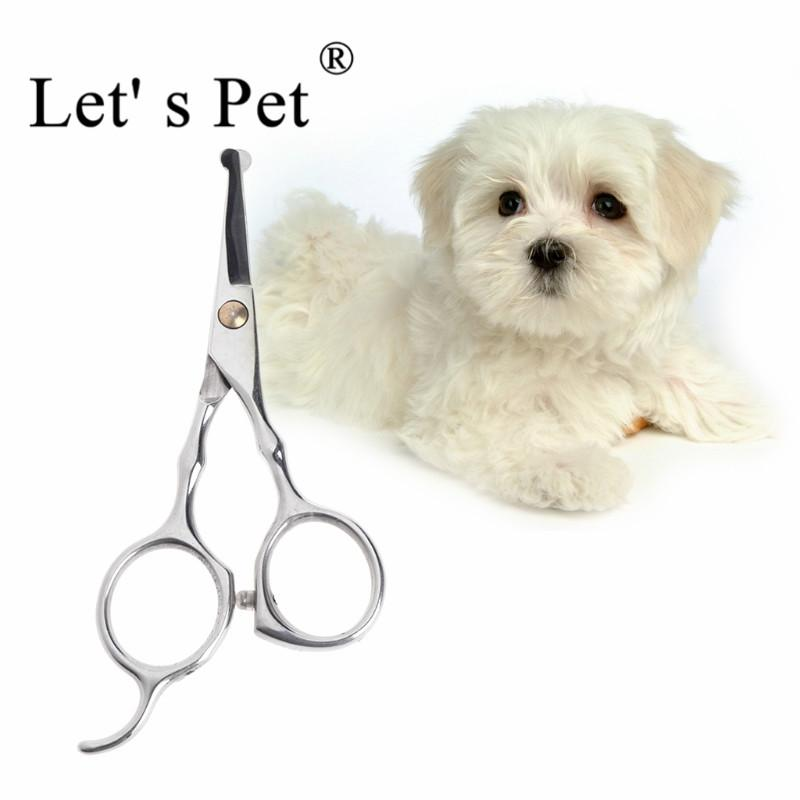 Let' s Pet 13x6cm Pet Dog Safety Rounded Tips Scissor Kits Grooming Thinning Animal Cutting Scissors Tool dogs