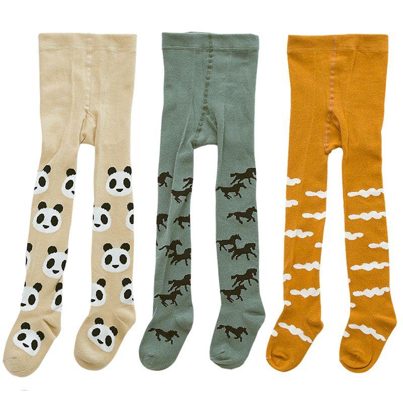 7633dfc0c0 Acquista 3 Paia / Lotto Calza Bambini Collant Babys Abbigliamento Bambini  Collant Bimbi Kawaii Collant Bimbi Ragazze Morbido Cotone 0 3Y A $15.08 Dal  ...