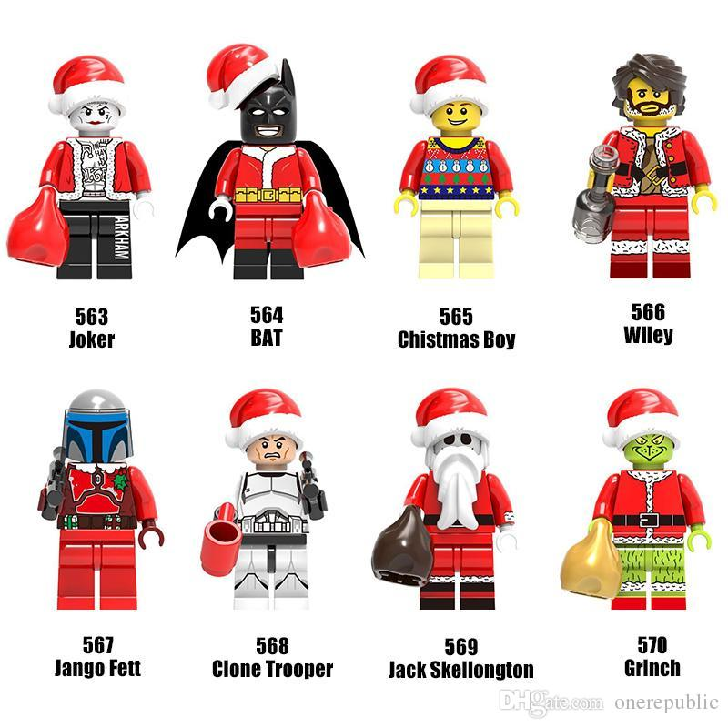 Discount Christmas Series Minifig Mix Christmas Boy Joker Wiley ...