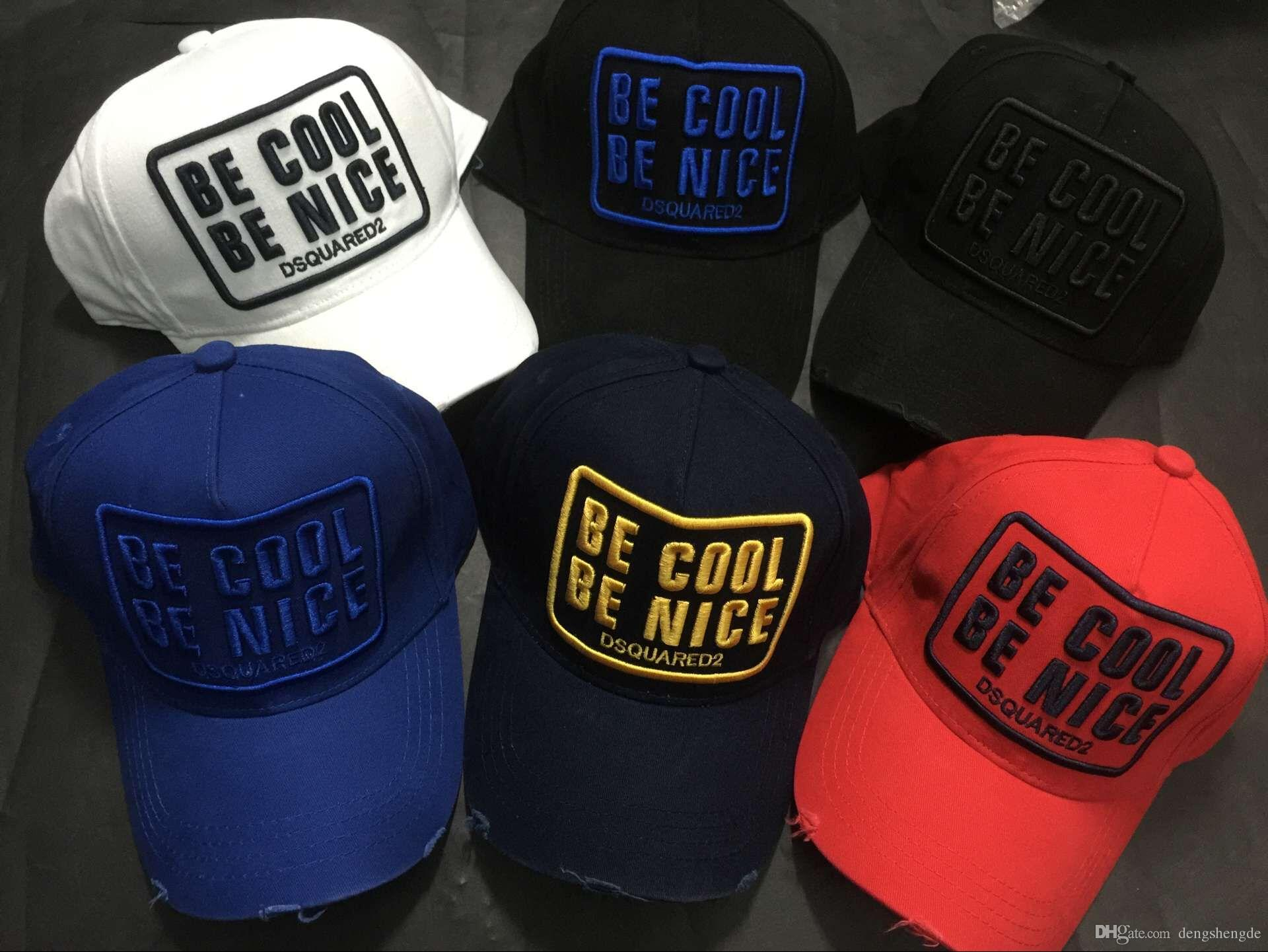 2018 New Summer Be Cool Be Nice Icon Cap Luxury Brand Baseball Caps Mens Cap  Icon Hat Czapka Canada Flag Hat Gorra Plana Snapback Flat Caps Trucker Caps  ... cca870e1e84