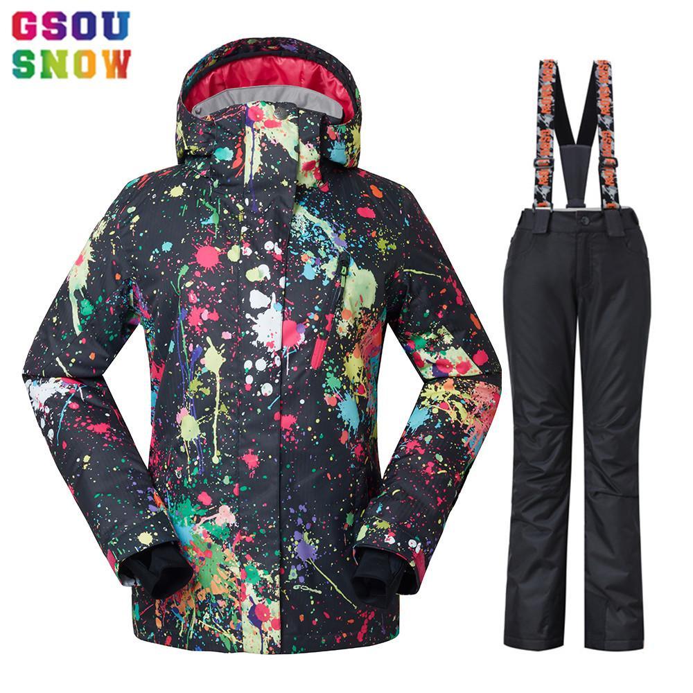 Mujeres Compre Snow Traje De Chaqueta Esquí Impermeable Gsou rO6xEO