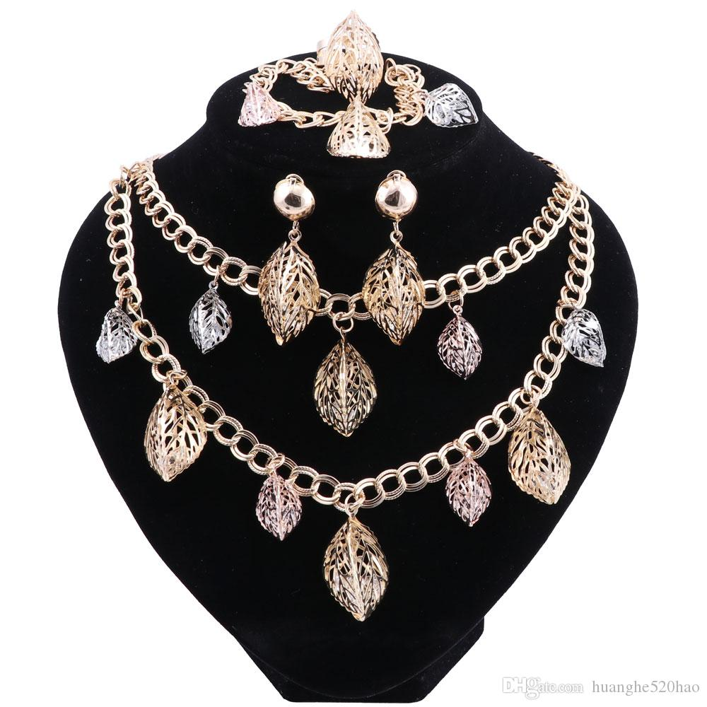 7039c91e6d Fashion Jewelry Set African Nigeria Dubai Gold-color African Bead Jewelry  Wedding Party Women Beads Jewelry Sets Wedding Party Jewelry Necklace  Jewelry Sets ...
