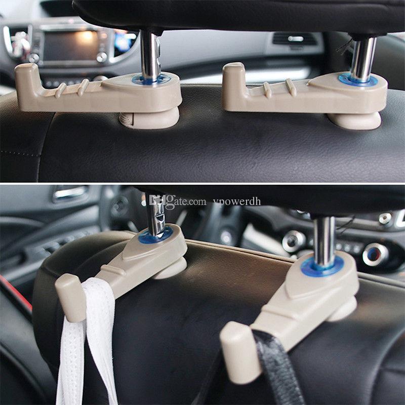 Encosto de Cabeça Do Carro Assento Gancho Titular Cabide Organizador Bag Cabide M00201