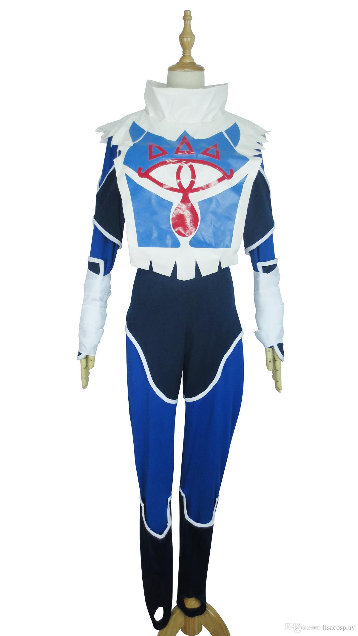 The Legend Of Zelda Ocarina Of Time Sheik Blue Uniform Game Cosplay Costume Kids Anime Cosplay Anime For Cosplay From Lisacosplay $103.52| Dhgate.Com  sc 1 st  DHgate.com & The Legend Of Zelda Ocarina Of Time Sheik Blue Uniform Game Cosplay ...