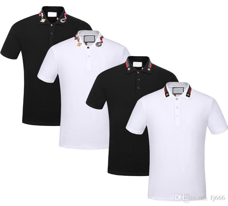 2018 Brand New Casual Poloshirt Men Solid Polo Shirts Men s Polo ... 774d07839524