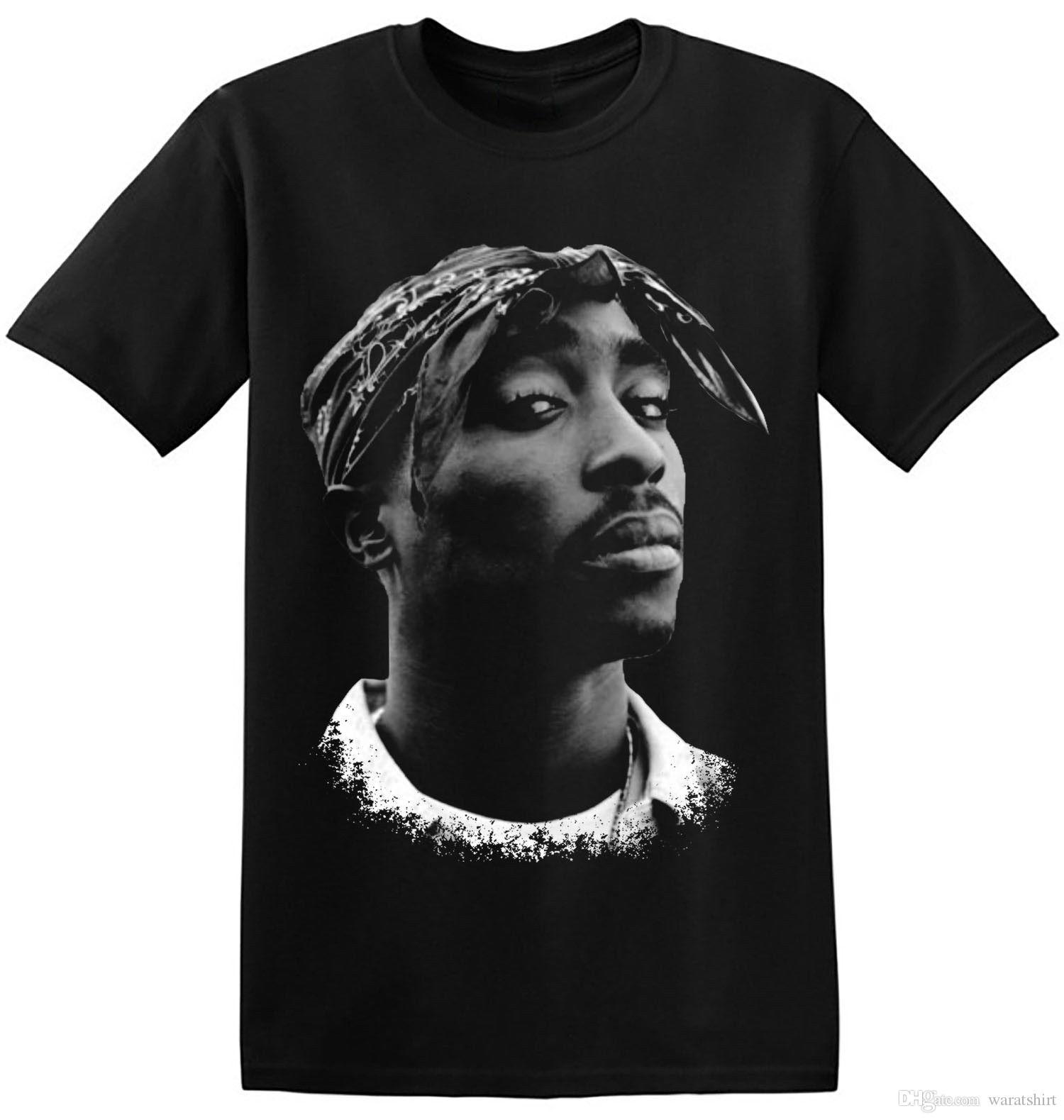 a409049bdb50e Compre Tupac Shakur Camiseta 2Pac Hip Hop Rapper Cantor Actor Celebridade  Novo Tee 3 A 002 De Waratshirt