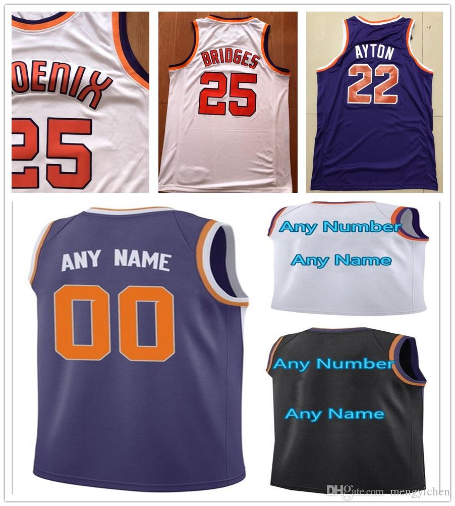ccdc811e3 Compre Impreso Troy Daniels Devin Booker Richaun Holmes Davon Reed  Shaquille Harrison Elie Okobo Isaiah Canaan De anthony Melton George King Jersey  A  14.66 ...