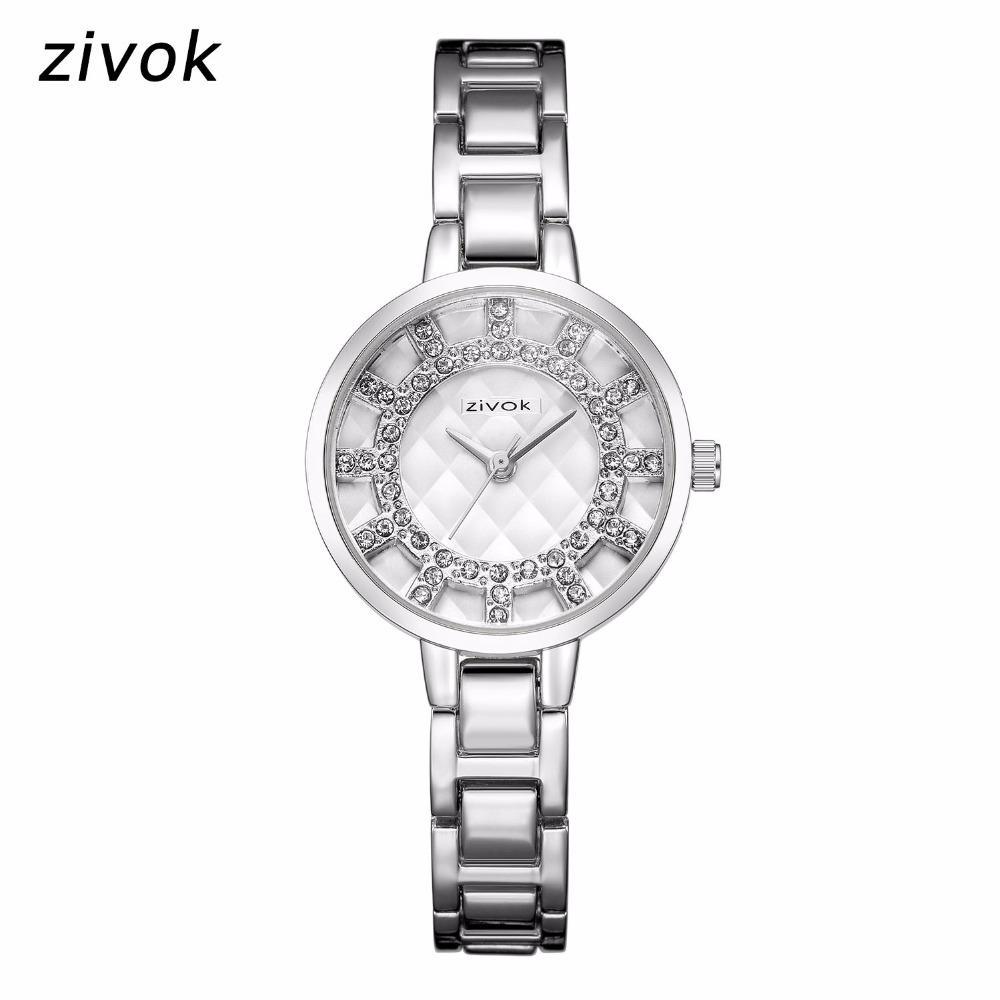 c24bd3bd64fc Compre Zivok Marca Mujeres De Lujo Relojes Pulsera Creativa Reloj Dama  Montre Femme Amantes Reloj De Pulsera De Cuarzo Reloj 8021 A  26.09 Del  Jianyue16 ...