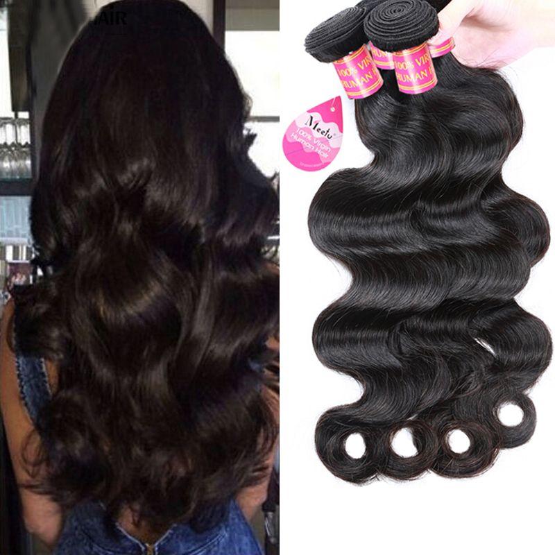 Wholesale Price Cheap 8a Brazilian Virgin Hair Body Wave Hair Weave