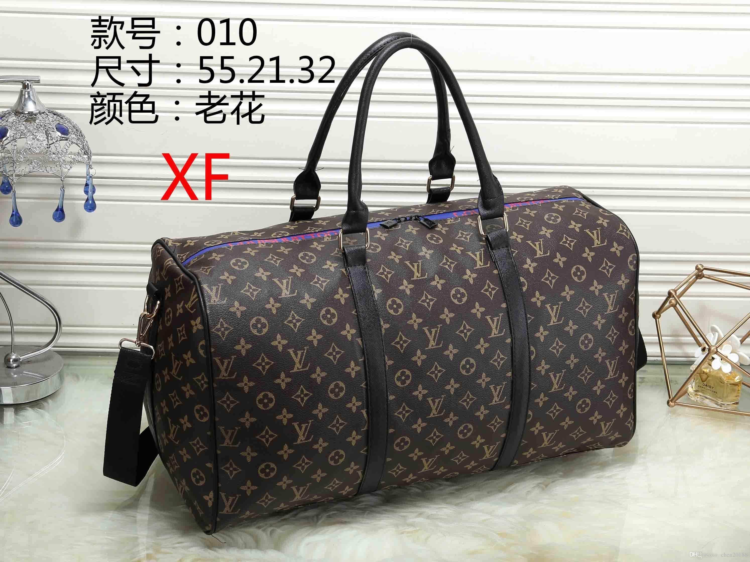 55CM Large Capacity Women Travel Bags Famous Classical Designer 2018 ... 896ae6b2ff282