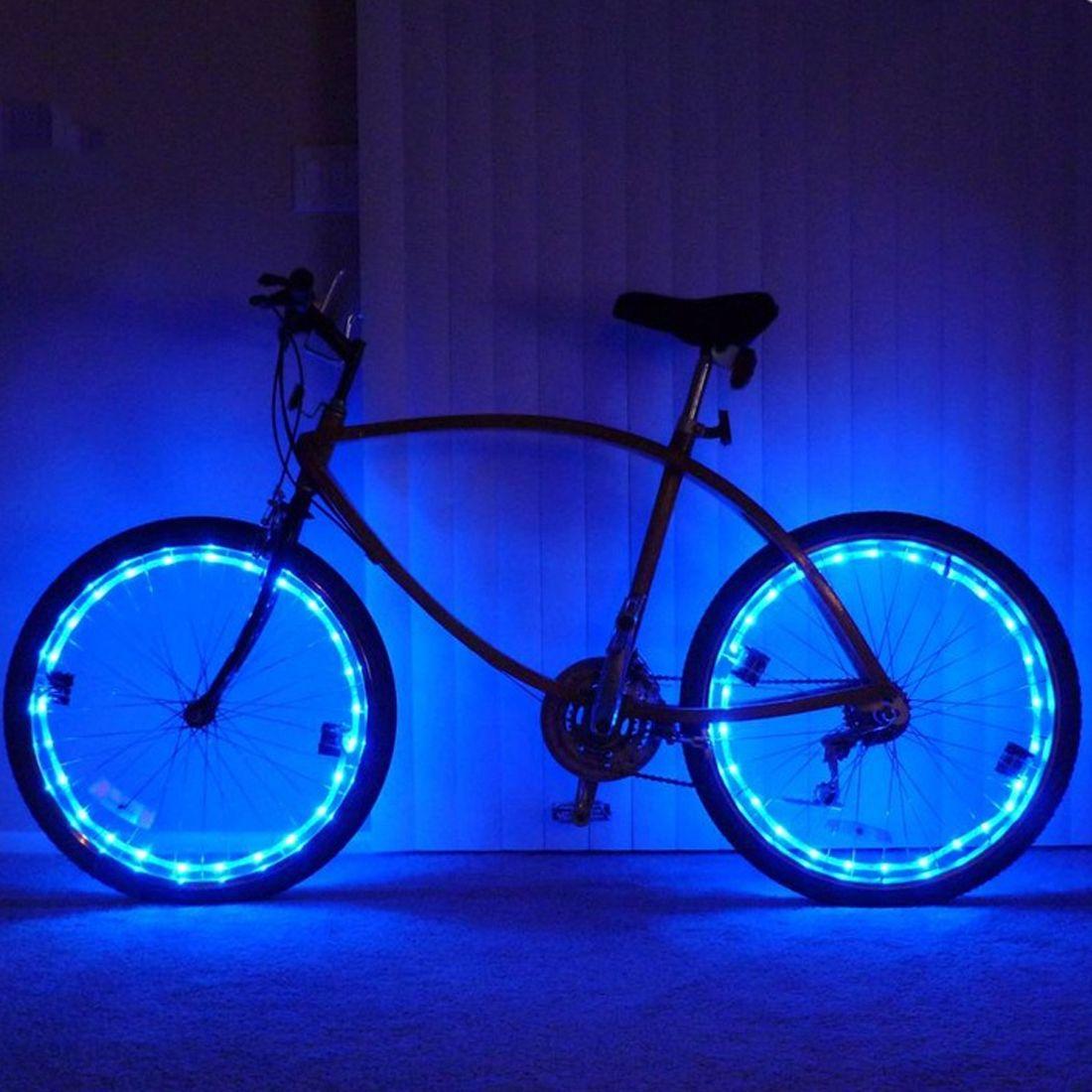 92af64ad6 Compre A Estrenar 20 LED Luces De La Bicicleta Luz De Bicicleta De Montaña  Ciclismo Spoke Rueda De La Lámpara Accesorios De Bicicleta Luces LED  Bicicleta A ...