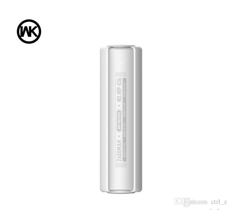 Remax WK 2600mAh Power bank Portable External Battery Charger for iphone 6 6s Samsung galaxy Remax Brand Power Bank UPS