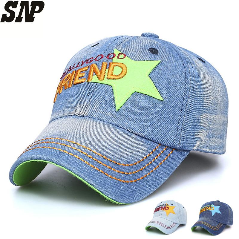 fb9bb1fea9319 SNP Baseball Cap For Children Boy Dad Hat Girl Sport Casual Hat Full Caps  Letter Embroidery Bones Bend Visor Baseball Fitted Cap Baseball Hat Hat  Store From ...