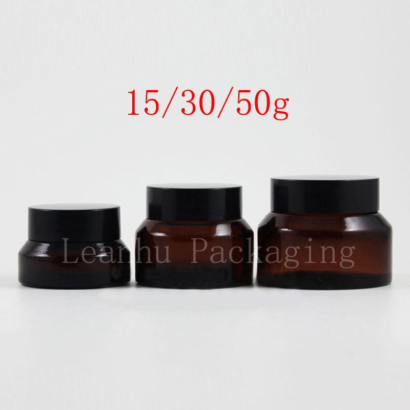 15g 30g 50g brown cream jar (1)