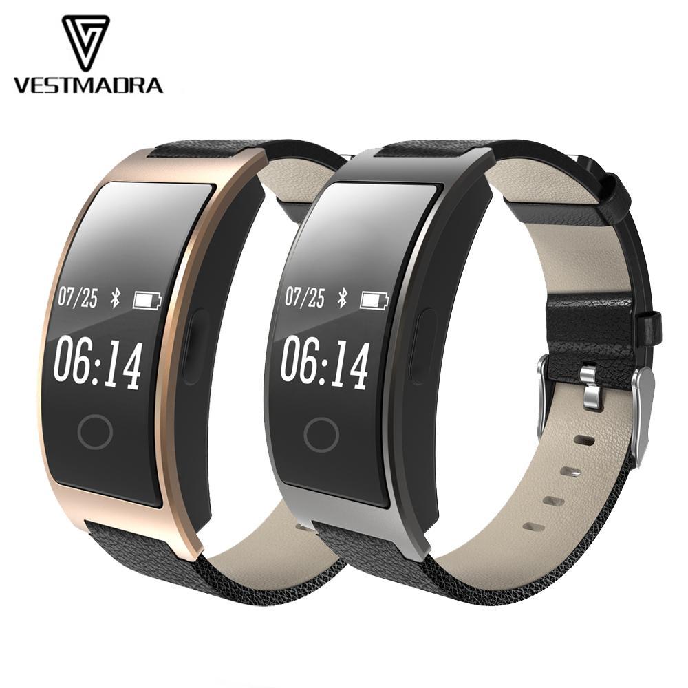 Monitor Sauerstoff Schrittzähler Blutdruck Vestmadra Smart Tracker Uhr Armband Fitness Herzfrequenz DEYe2HIW9