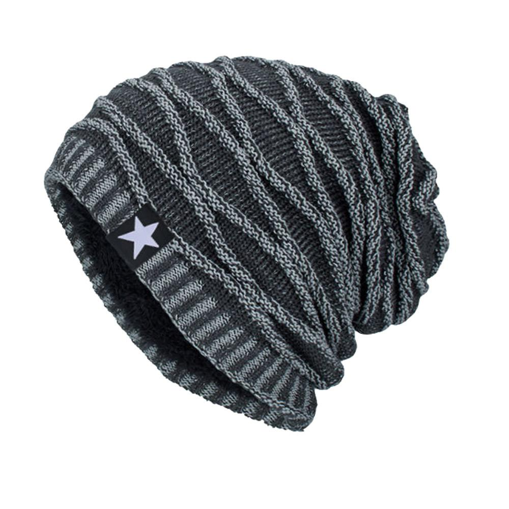79b71c69a59 Unisex Knit Cap women men winter warm hat Hedging Head Hats Beanie Cap Warm  Outdoor Fashion Hat O.12