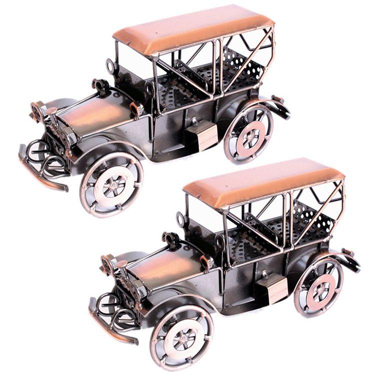 2018 Creative Wedding Gifts Handmade Retro Wecker Car Model Metal