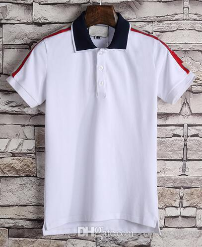 Express Polo Shirt Men Short Sleeve High Quality Casual Cotton Shirts Lapel camisa homme Men's Polos Brands Black Red