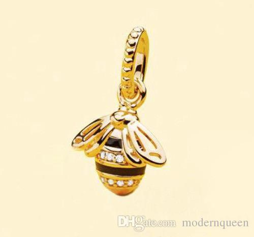 1fa7941be 2019 /LotQueen Bee Charms Pendant 925 Sterling Silver Fits Pandora Style  Bracelets 367075EN16 H9 From Modernqueen, $41.48   DHgate.Com