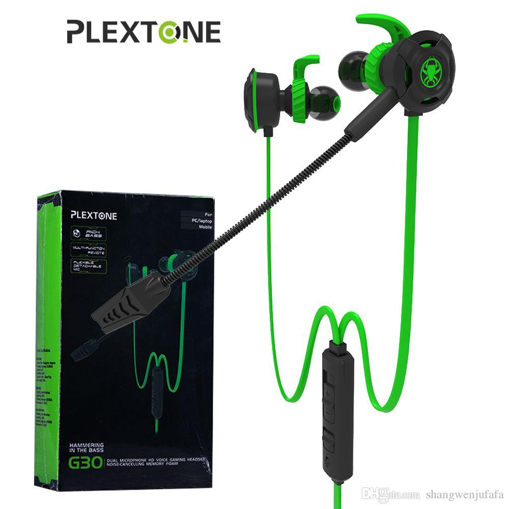 Sennheiser Headset Bluetooth Plextone G30 In Ear Gaming Kopfhrer Microphone Wiring Diagram Mit Mikrofon Bass Spiel Hammerhead Fr Telefon Pc Notebook