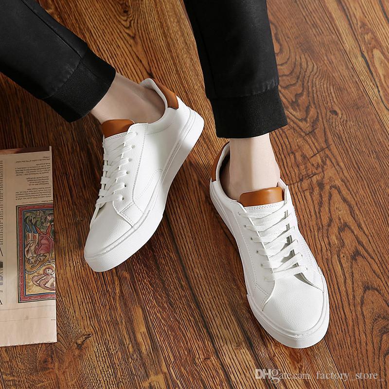 7ae71b6d09 Compre Zapatos De Cuero Para Hombres Zapatos De Diseño Para Hombres Zapatos  De Hombre De Alta Calidad Marca De Lujo Buty Damskie Heren Schoenen Spor ...