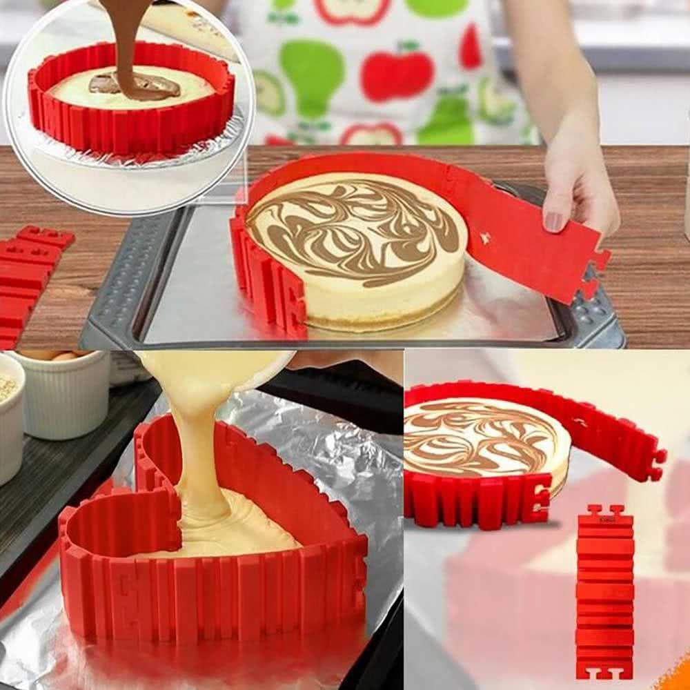 Grosshandel Kuchenform Kochen Formen Silikon Kuchen Backen Form