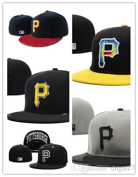 d8d7022a580423 New Arrival Pittsburgh Pirates Street Fitted Fashion Hat P Letters Snapback  Cap Men Women Basketball Hip Pop Hats And Caps Skull Caps From Dugate7, ...