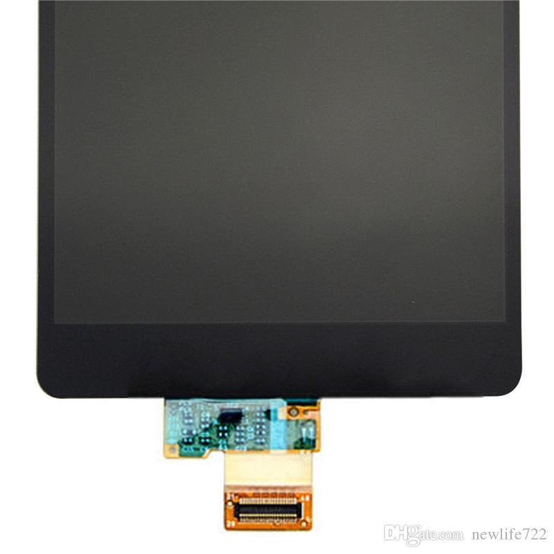 Para lg x poder x3 k220ds k210 lcd 5.3 polegada touch screen digitador assembléia com display celular original peças de reparo atacado
